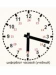 Часовой циферблат (раздаточный)