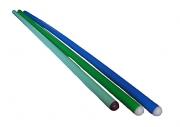 Палка гимнастическая 110 см (пластм.)