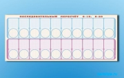 """Панно (демонстрационное) магнитно-маркерное для изучения состава числа """"Объекты, предназначенные для демонстрации последовательного пересчета от 0 до10; от 0 до 20""""   комплект тема"""