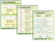 """Комплект таблиц """"Алгебра и начала анализа. Функции и их свойства"""""""
