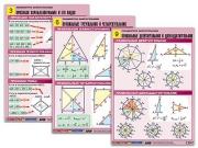 """Комплект таблиц по геометрии """"Планиметрия. Многоугольники"""""""