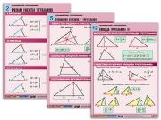 """Комплект таблиц по геометрии """"Планиметрия. Треугольники"""""""