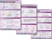 """Комплект таблиц по геометрии """"Стереометрия. Векторы и координаты в пространстве"""""""