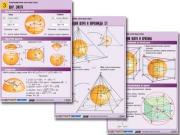 """Комплект таблиц по геометрии """"Стереометрия. Круглые тела"""""""