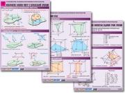 """Комплект таблиц по геометрии """"Стереометрия. Основные построения в пространстве"""""""