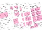 Таблицы по геометрии 7 кл. (18 шт., формат А1)