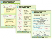 "Комплект таблиц по алгебре и началам анализа раздат. ""Функции и графики"""