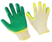 Перчатки  Х/Б ладонь с двойн. обливом латексом
