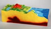 """Модель """"Строение вулкана"""" (малая)"""