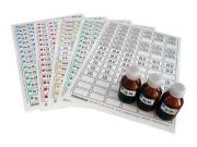 Набор этикеток самоклеющихся (лабораторный)