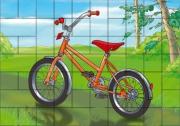 """Магнитный пазл """"Велосипед"""""""