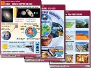 """Комплект таблиц по географии """"Природа Земли и человек"""" (14 табл., формат А1, лам.)"""