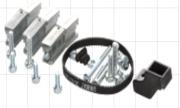 Комплект крепежных и запасных деталей для конструкторов модульных станков UNIMAT 1