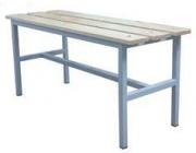 Скамейка гардеробная Э-410-С 1000*350*450  мм. Неразборная.