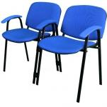 Секция Персона 2 (ИЗО 2) из 2-х стульев. Обивка кож. зам.