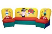 Комплект мягкой мебели «Сказка» (диван 2 кресла)